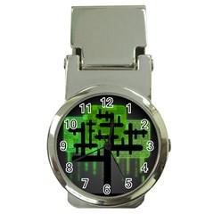 Binary Binary Code Binary System Money Clip Watches by Simbadda