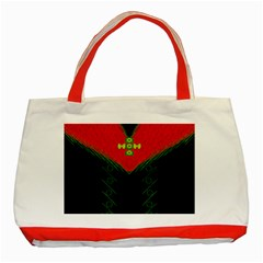 Dressed For Success Classic Tote Bag (red) by pepitasart