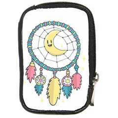 Cute Hand Drawn Dreamcatcher Illustration Compact Camera Cases by TastefulDesigns
