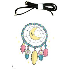 Cute Hand Drawn Dreamcatcher Illustration Shoulder Sling Bags by TastefulDesigns