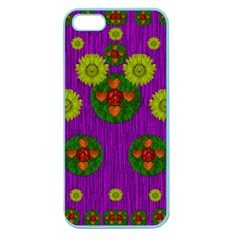 Buddha Blessings Fantasy Apple Seamless Iphone 5 Case (color) by pepitasart