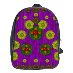 Buddha Blessings Fantasy School Bags (xl)  by pepitasart