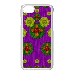Buddha Blessings Fantasy Apple Iphone 7 Seamless Case (white) by pepitasart