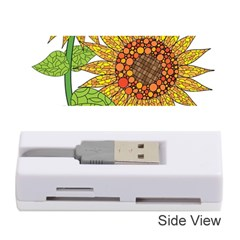 Sunflowers Flower Bloom Nature Memory Card Reader (stick)  by Simbadda