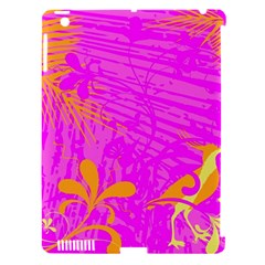 Spring Tropical Floral Palm Bird Apple Ipad 3/4 Hardshell Case (compatible With Smart Cover) by Simbadda
