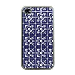 Leaves Horizontal Grey Urban Apple Iphone 4 Case (clear) by Simbadda