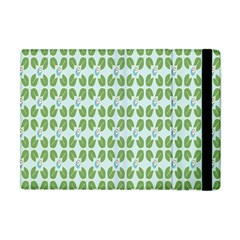 Leaf Flower Floral Green Apple Ipad Mini Flip Case by Alisyart