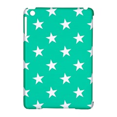 Star Pattern Paper Green Apple Ipad Mini Hardshell Case (compatible With Smart Cover) by Alisyart