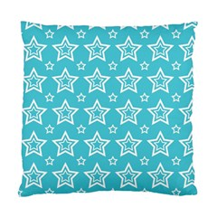 Star Blue White Line Space Sky Standard Cushion Case (two Sides) by Alisyart