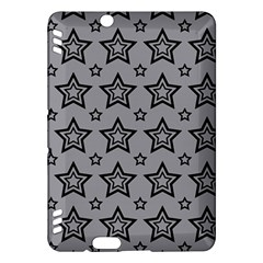 Star Grey Black Line Space Kindle Fire Hdx Hardshell Case by Alisyart