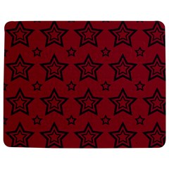 Star Red Black Line Space Jigsaw Puzzle Photo Stand (rectangular) by Alisyart