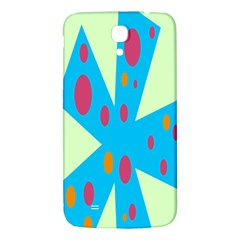 Starburst Shapes Large Circle Green Blue Red Orange Circle Samsung Galaxy Mega I9200 Hardshell Back Case by Alisyart