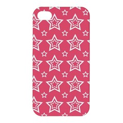Star Pink White Line Space Apple Iphone 4/4s Hardshell Case by Alisyart