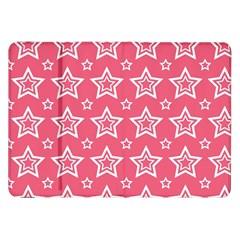 Star Pink White Line Space Samsung Galaxy Tab 8 9  P7300 Flip Case by Alisyart