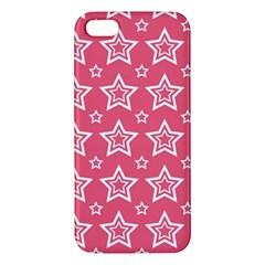 Star Pink White Line Space Iphone 5s/ Se Premium Hardshell Case by Alisyart