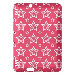 Star Pink White Line Space Kindle Fire Hdx Hardshell Case by Alisyart