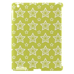 Star Yellow White Line Space Apple Ipad 3/4 Hardshell Case (compatible With Smart Cover) by Alisyart