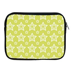 Star Yellow White Line Space Apple Ipad 2/3/4 Zipper Cases by Alisyart