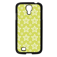 Star Yellow White Line Space Samsung Galaxy S4 I9500/ I9505 Case (black) by Alisyart