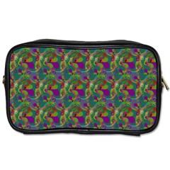 Pattern Abstract Paisley Swirls Toiletries Bags 2 Side by Simbadda
