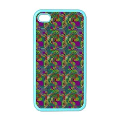 Pattern Abstract Paisley Swirls Apple Iphone 4 Case (color) by Simbadda