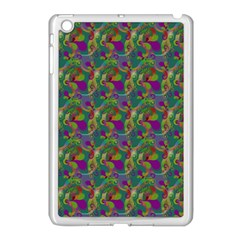 Pattern Abstract Paisley Swirls Apple Ipad Mini Case (white) by Simbadda