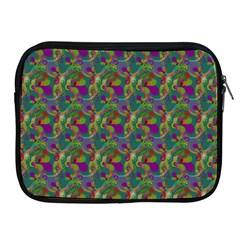 Pattern Abstract Paisley Swirls Apple Ipad 2/3/4 Zipper Cases by Simbadda