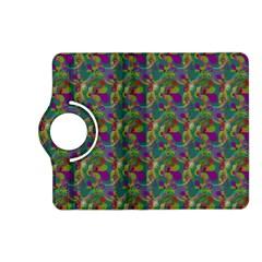 Pattern Abstract Paisley Swirls Kindle Fire Hd (2013) Flip 360 Case by Simbadda