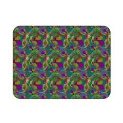 Pattern Abstract Paisley Swirls Double Sided Flano Blanket (mini)  by Simbadda