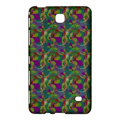 Pattern Abstract Paisley Swirls Samsung Galaxy Tab 4 (8 ) Hardshell Case  by Simbadda