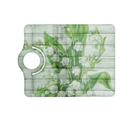 On Wood May Lily Of The Valley Kindle Fire Hd (2013) Flip 360 Case by Simbadda