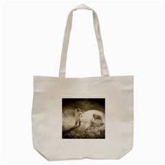 Astronaut Space Travel Space Tote Bag (cream)
