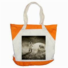 Astronaut Space Travel Space Accent Tote Bag by Simbadda