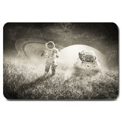 Astronaut Space Travel Space Large Doormat  by Simbadda