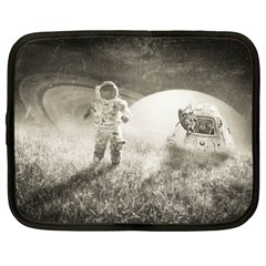 Astronaut Space Travel Space Netbook Case (XL)  by Simbadda