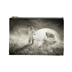 Astronaut Space Travel Space Cosmetic Bag (large)  by Simbadda