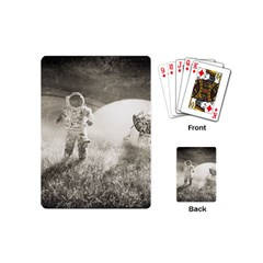 Astronaut Space Travel Space Playing Cards (mini)  by Simbadda