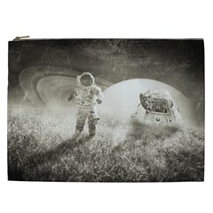 Astronaut Space Travel Space Cosmetic Bag (xxl)  by Simbadda