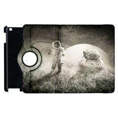 Astronaut Space Travel Space Apple Ipad 3/4 Flip 360 Case by Simbadda