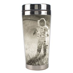 Astronaut Space Travel Space Stainless Steel Travel Tumblers by Simbadda