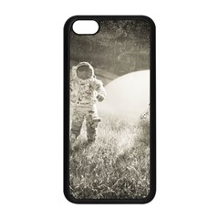 Astronaut Space Travel Space Apple Iphone 5c Seamless Case (black) by Simbadda