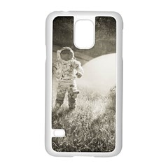 Astronaut Space Travel Space Samsung Galaxy S5 Case (white) by Simbadda