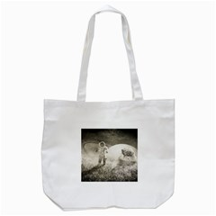 Astronaut Space Travel Space Tote Bag (white) by Simbadda