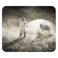 Astronaut Space Travel Space Double Sided Flano Blanket (small)  by Simbadda