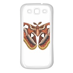 Butterfly Animal Insect Isolated Samsung Galaxy S3 Back Case (white) by Simbadda