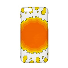 Sun Hot Orange Yrllow Light Apple Iphone 6/6s Hardshell Case by Alisyart