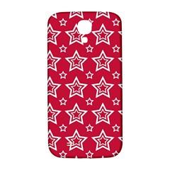 Star Red White Line Space Samsung Galaxy S4 I9500/i9505  Hardshell Back Case by Alisyart