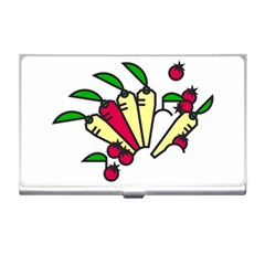 Tomatoes Carrots Business Card Holders by Alisyart