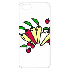 Tomatoes Carrots Apple Iphone 5 Seamless Case (white) by Alisyart