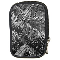 Fern Raindrops Spiderweb Cobweb Compact Camera Cases by Simbadda
